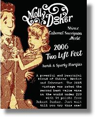 Mollydooker 2006 Two Left Feet Wine Tasting Review